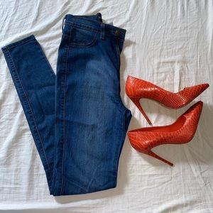 NWOT Fashion Nova HighWaisted Jeans DarkBlue Denim